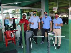 Clube investe R$ 40 mil e moderniza acesso.