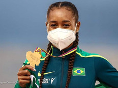 Pinda terá uma representante nas Olimpíadas de Tóquio.