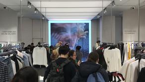 Zara's first online store