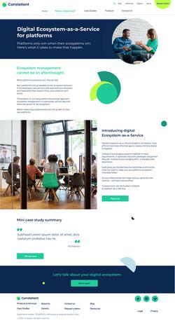 Product Platform page