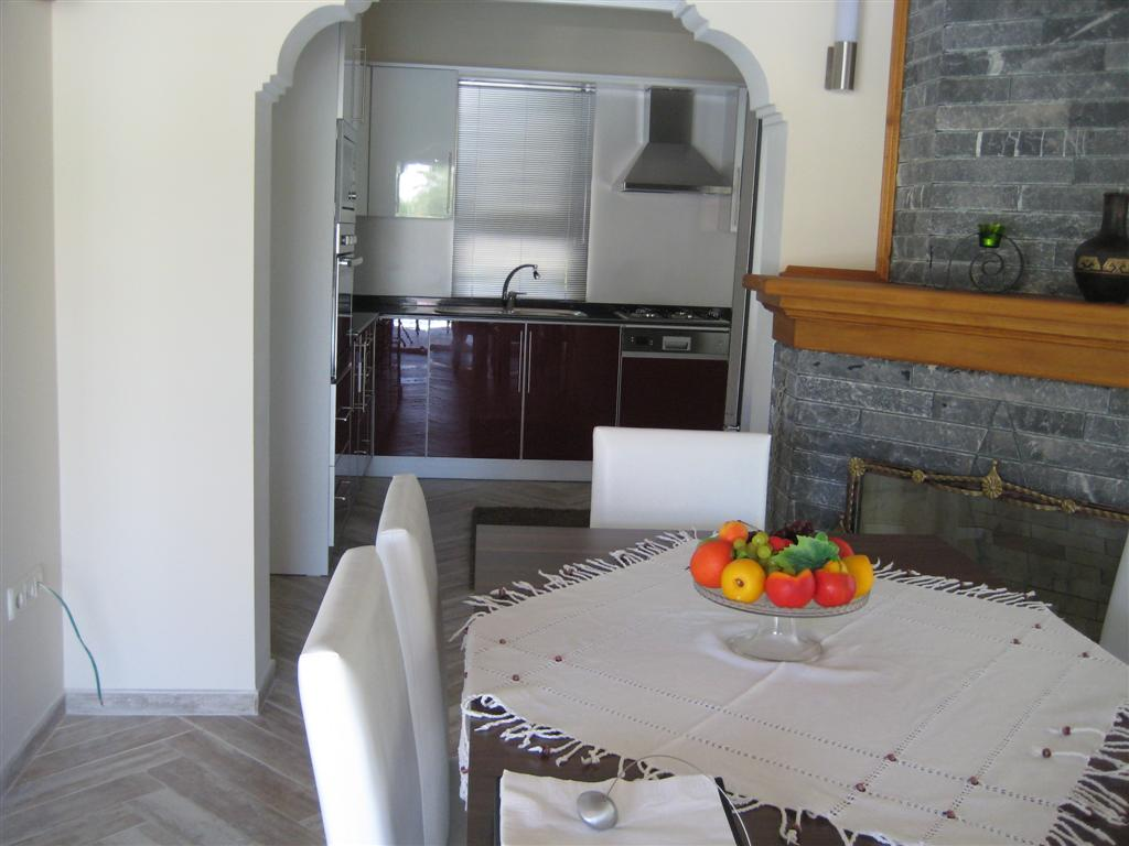 Kitchen from the dining area