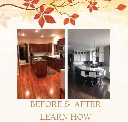 Kitchen Transformation by Laurel Bahr