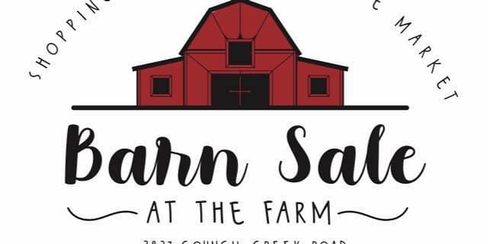 Barn sale at the Farm