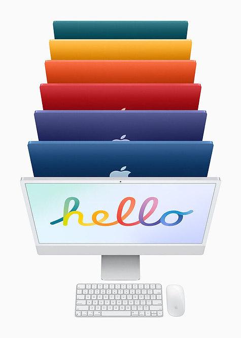 "Apple iMac 24"" 2021 (M1/8GB/256GB/7-Core GPU/macOS)"