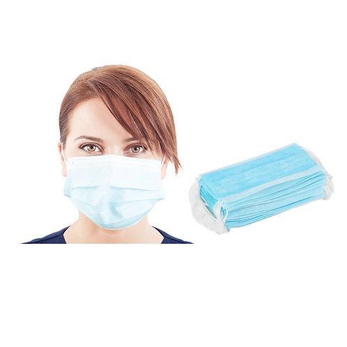Μάσκα 3ply (non-medical), μπλε (bundle)