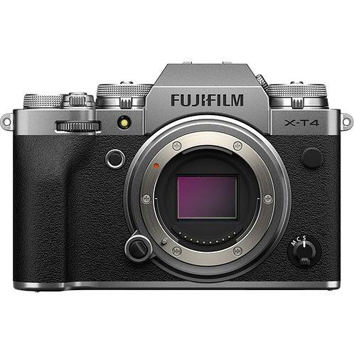 Fujifilm X-T4 Mirrorless Digital Cameras - Body only - Silver