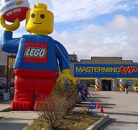 φουσκωτό διαφημιστικό lego