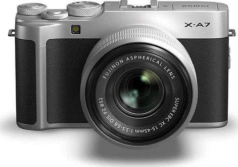 Fujifilm X-A7 Kit (15-45mm f/3.5-5.6) Silver