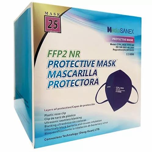 KN95 (5 φίλτρων) μάσκα FFP2 (Σκούρο Μπλε) - 25τμχ