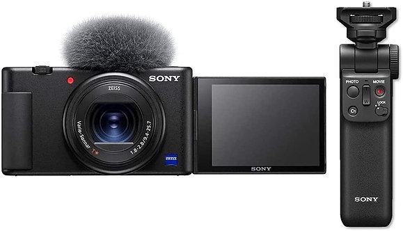 Sony ZV-1 (20.1MP) 4K Video UHD + Bluetooth Sony Grip