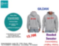 Gildan Hood sweater offer