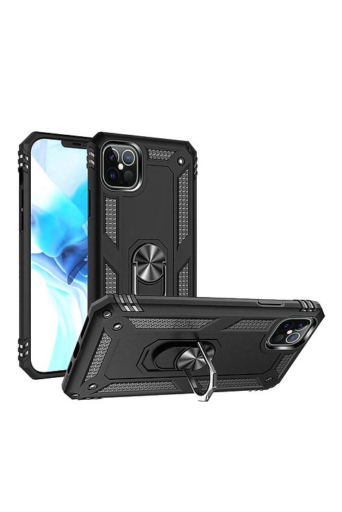 IP126.7 - Για iPHONE 12 PRO MAX 6.7 RING MAGNETIC KICKSTAND HYBRID CASE COVER