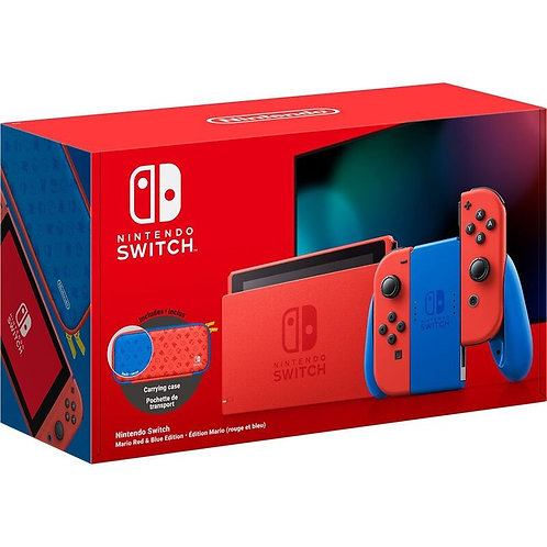 Nintendo Switch HAD Mario Red/Blue Joy-Con Special Edition