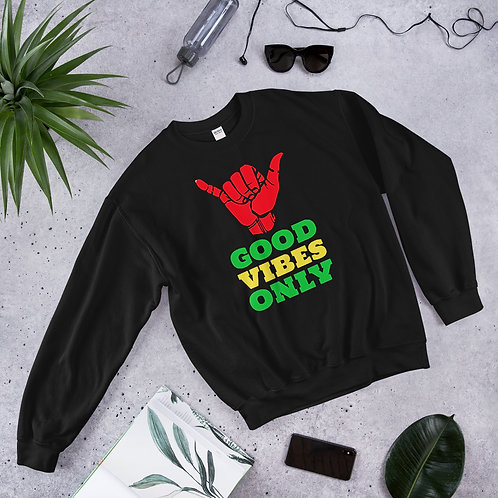 Good Vibes Only Unisex Sweatshirt