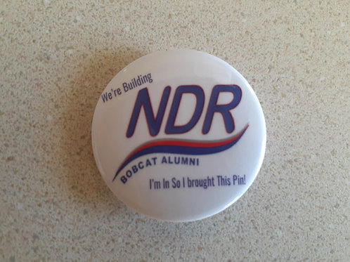 Free - NDR Alumni Pin with any purchase