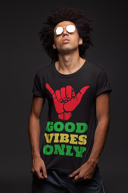 Own your peace: Good Vibes Only Tee