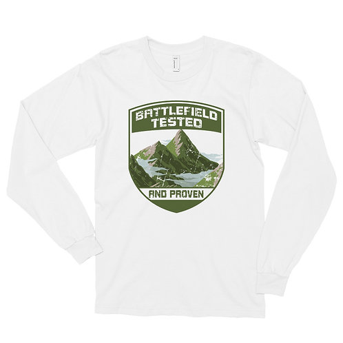 Battlefield Tested Badge Long Unisex Sleeve T-shirt