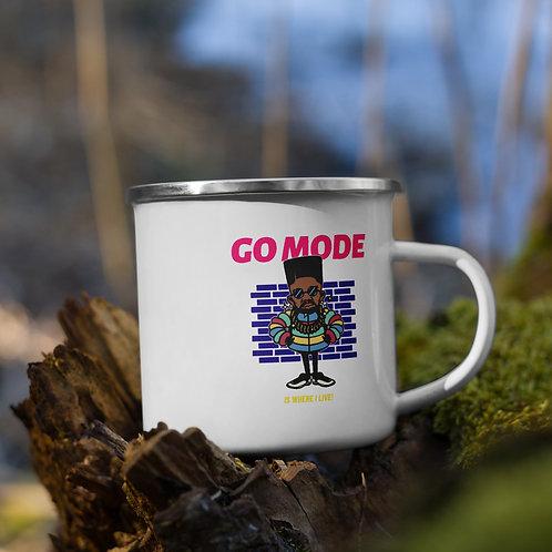MistahGo Mode Enamel Mug