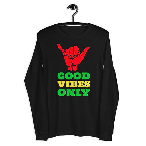 Good Vibes Only Unisex Long Sleeve Tee
