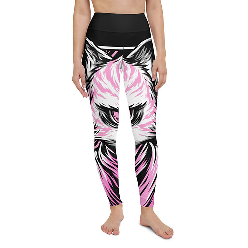 Empowered Yoga Leggings -  Pink