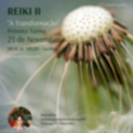 Curso de Formação Livre em REIKI I, II e