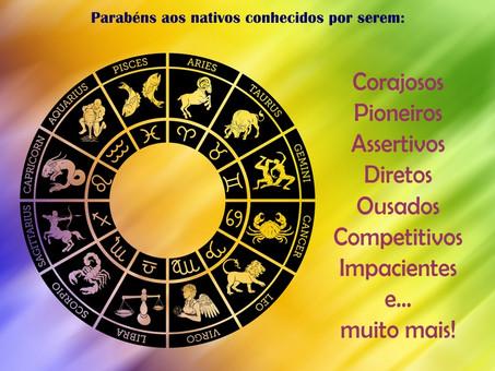 Signo de Áries: Ação e paixão acionam a roda zodiacal.