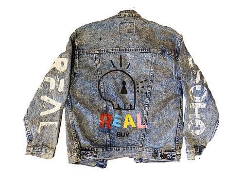 Real Ghost Denim Jacket - XL