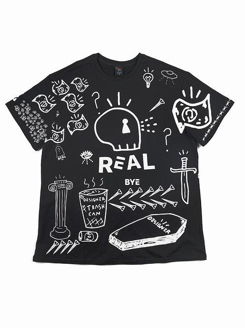 DNA - T Shirt Black