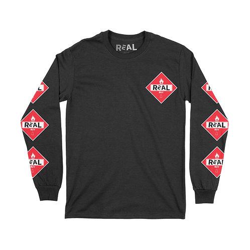 Real Buy Flames - Long Sleeve T-Shirt