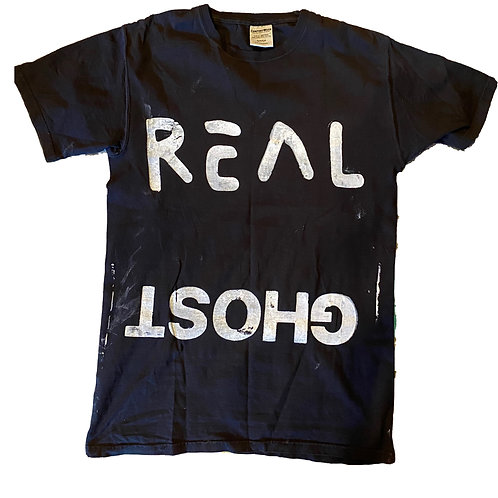 Real Ghost Black T-Shirt Small