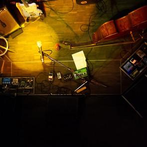 Bühne von oben