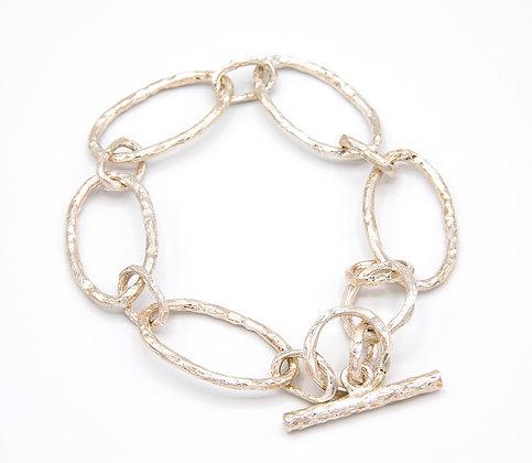 Oval Bracelet - Sterling Silver
