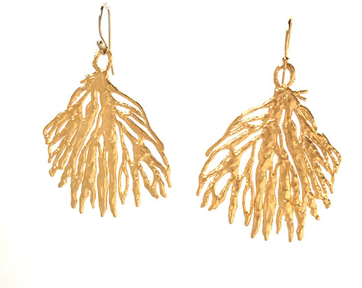 Coral Earrings - Medium