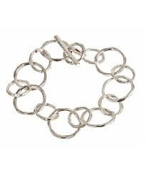Circles Bracelet in Sterling