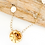 Thumbnail: Gold Sand Dollar and Coin Pearl Necklace