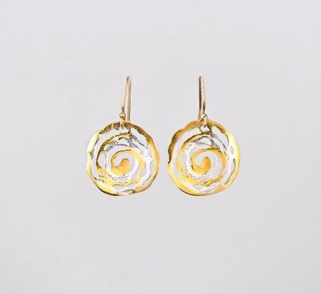 Journey Earrings - Two Tone