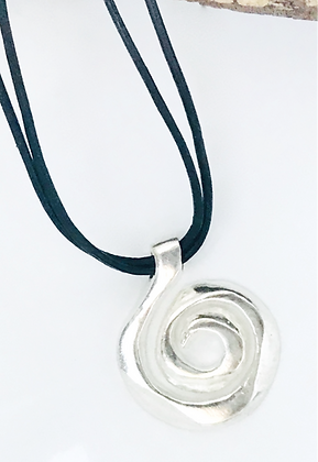 Inner Journey Pendant on Leather