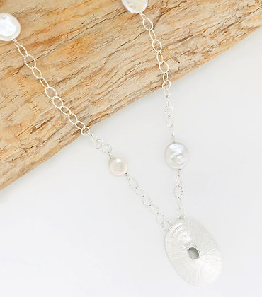 Medium Limpet Shell Necklace