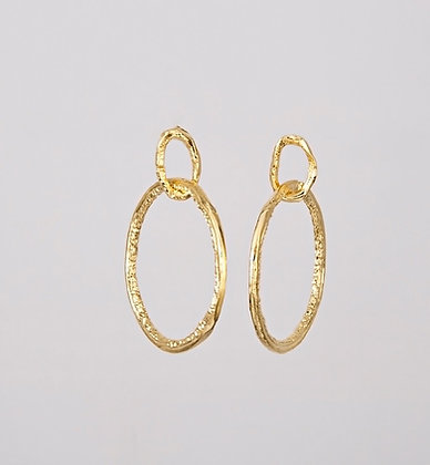 Gold Hoops - Small