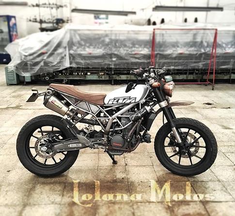 KTM Power! #ktmduke #duke200 #dukescramb
