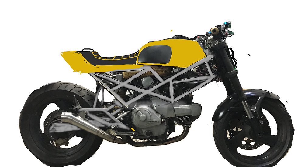 Ducati Scrambler o Tracker