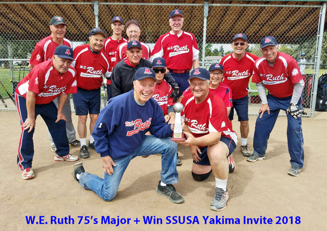 W.E. Ruth Realty 75's Major Plus Take Division Title in Yakima 2018