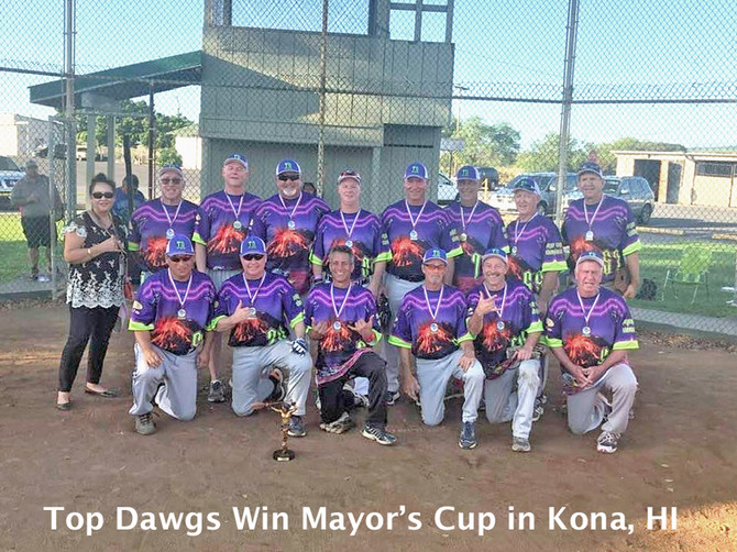 NW Top Dawgs Win Kona, Hawaii Mayor's Cup Again in 2020