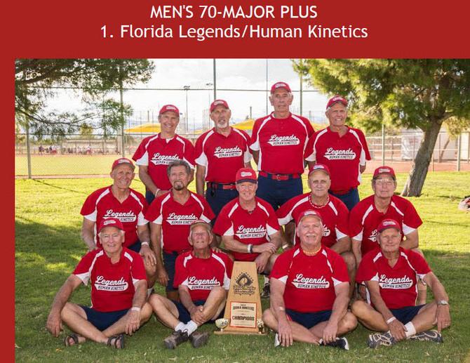 NW Nemesis The Florida Legends/Human Kinetics 70's Major Plus Champions