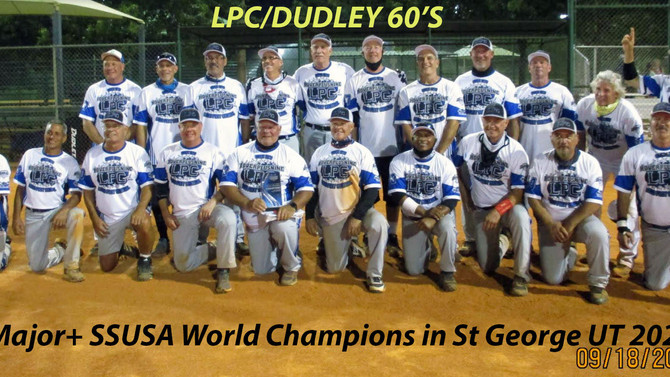 LPC/DUDLEY 60's Major+ World Masters Champions 2020