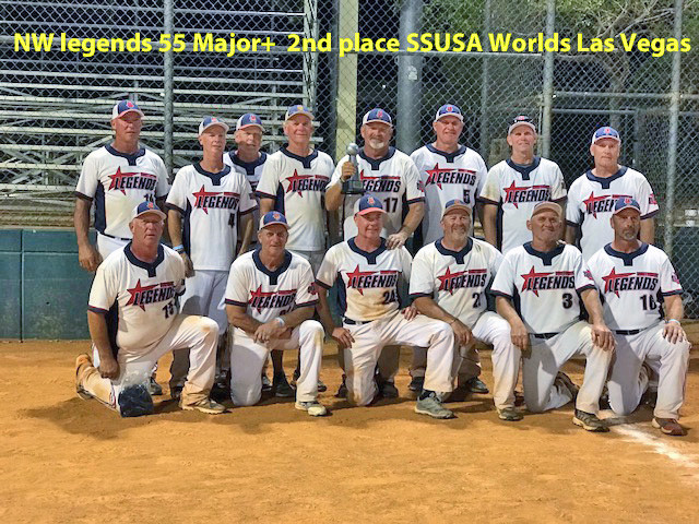 NW legends 55 Major plus 2nd place at SSUSA Worlds in Las Vegas