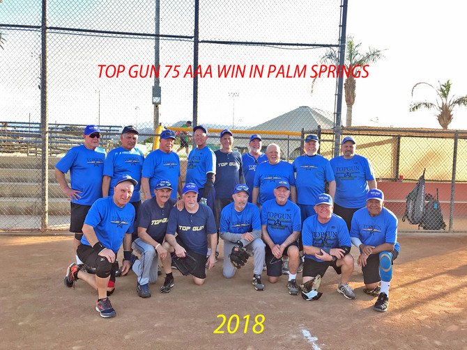 Top Gun 75 AAA won by beating Git R Done in the championship game