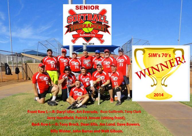 Sim's 70's Bullhead City Champions 2014