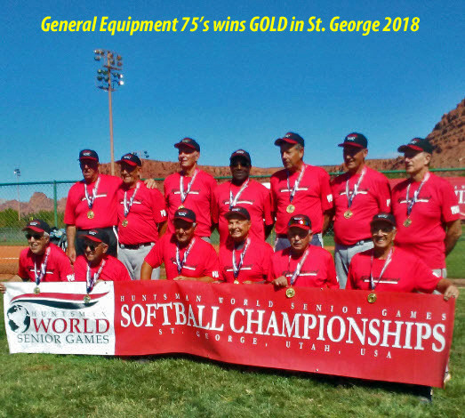 General Equipment 75's Win Gold in St. George 2018
