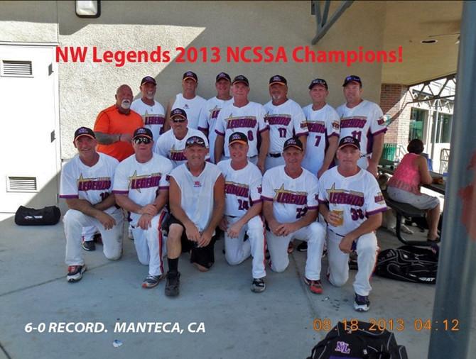 NW Legends Champions Manteca, CA 2013